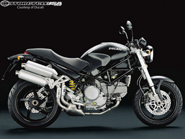 2006 Ducati Monster 620 Dark #7