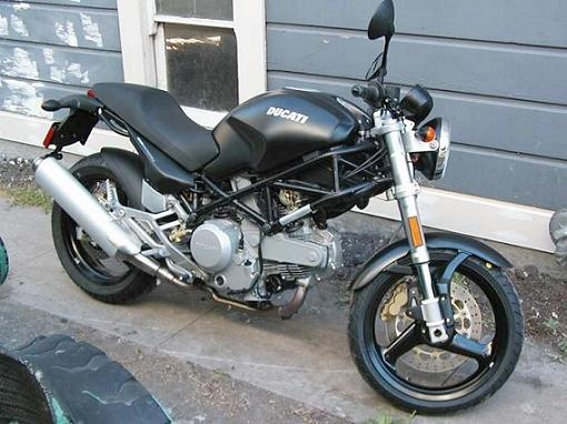 2006 Ducati Monster 620 Dark #4
