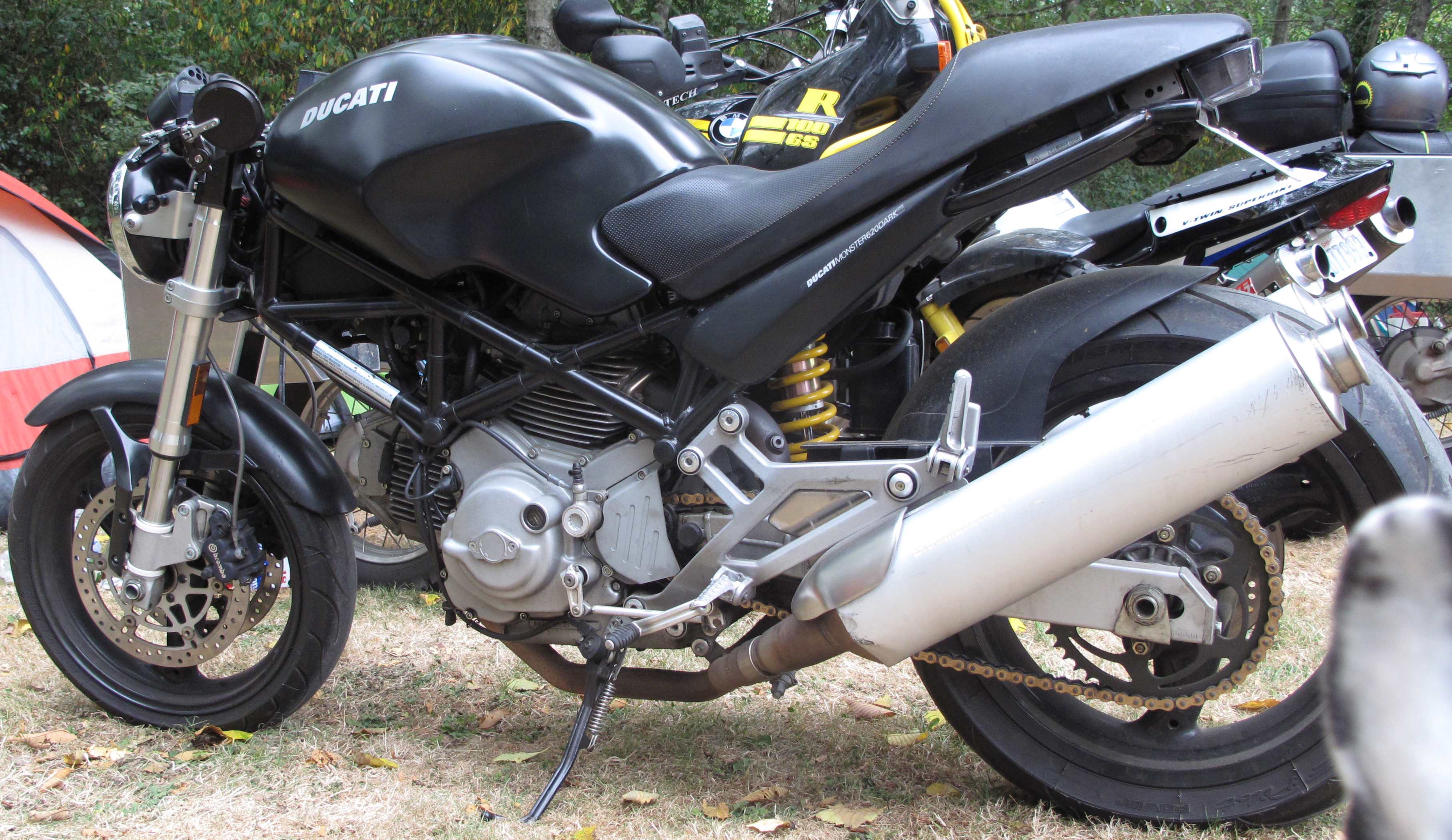 2006 Ducati Monster 620 Dark #6