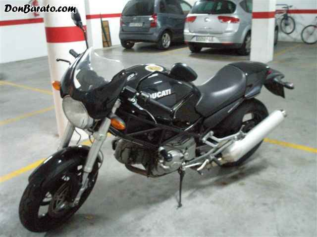 Ducati Monster 620 i.e. Dark Single Disc #8