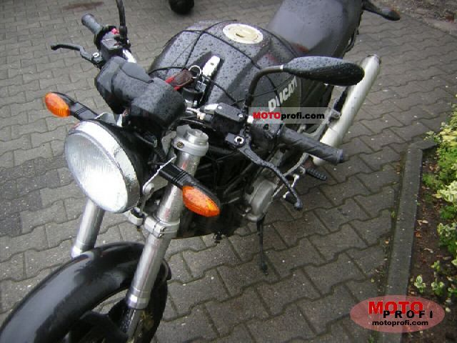 Ducati Monster 620 i.e. Dark Single Disc #9