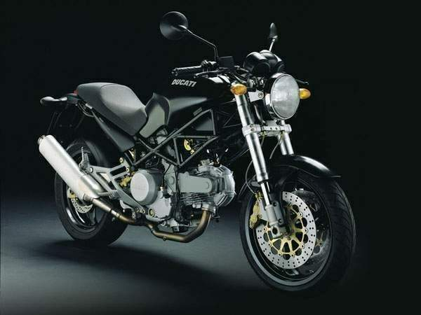 Ducati Monster 620 i.e. Dark Single Disc #5