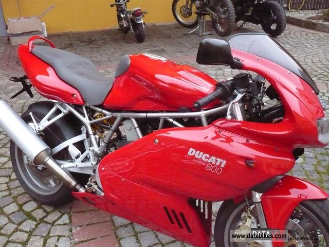 2004 Ducati Supersport 800 #1