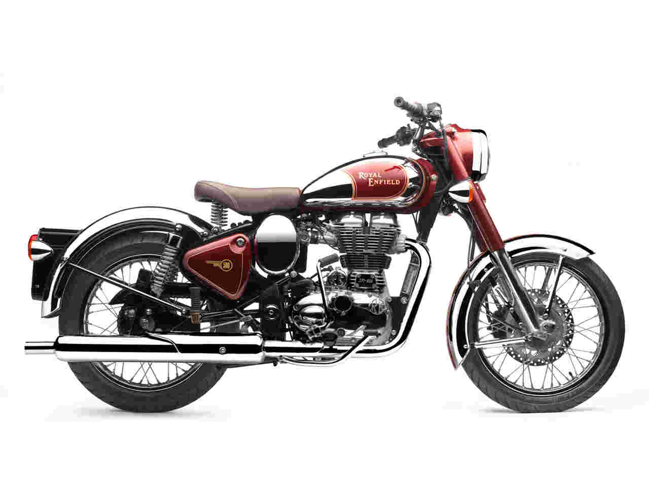 Enfield 350 Classic Outfit #1