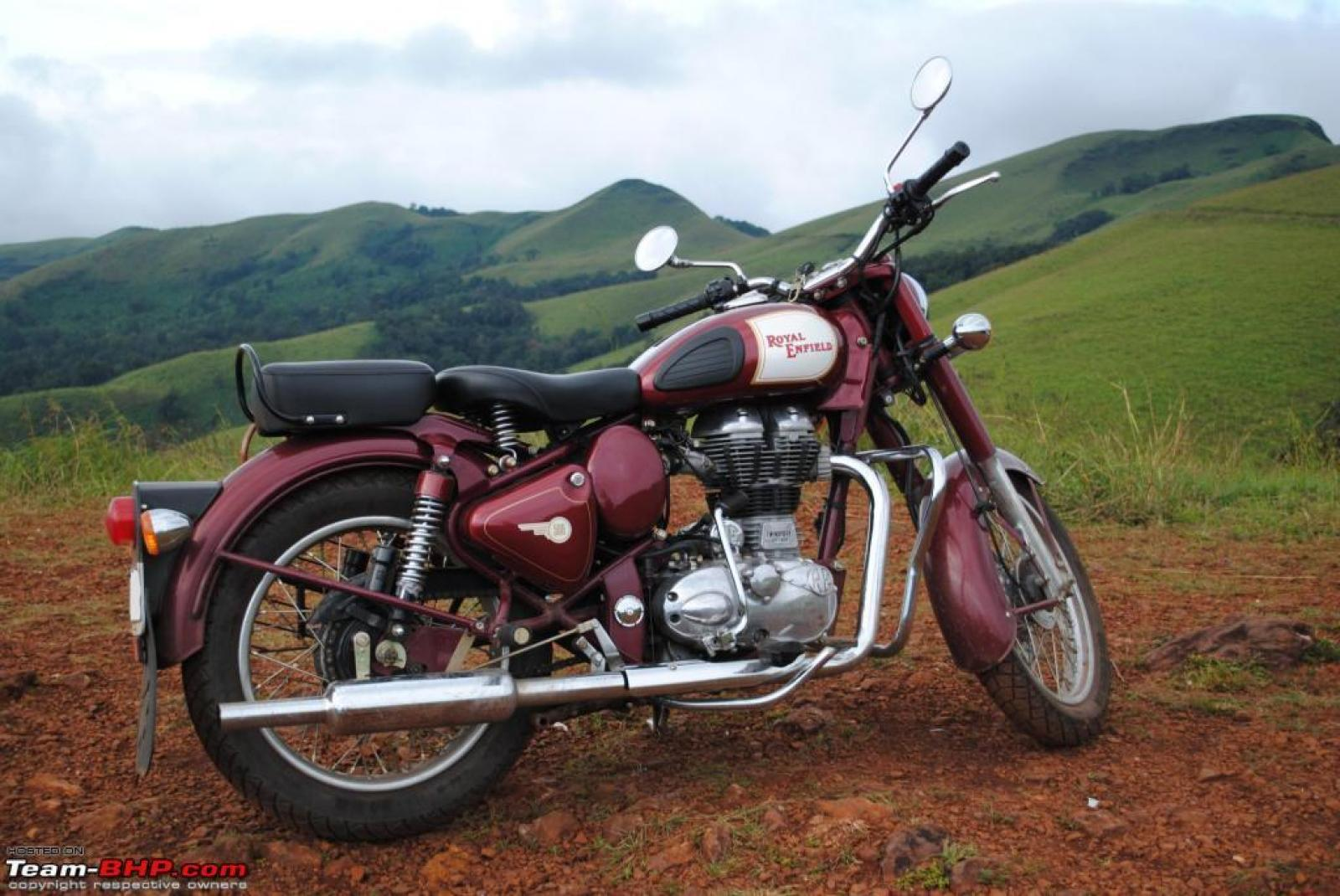 1991 Enfield 500 Bullet (reduced effect) #5