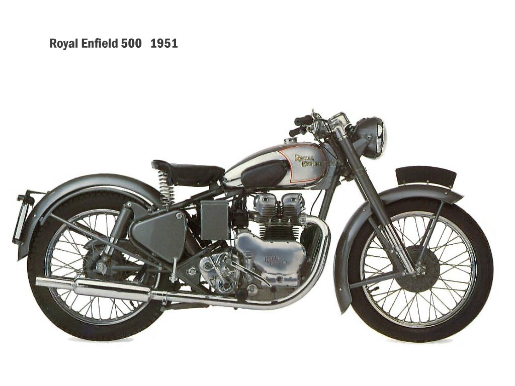 1991 Enfield 500 Bullet (reduced effect) #7