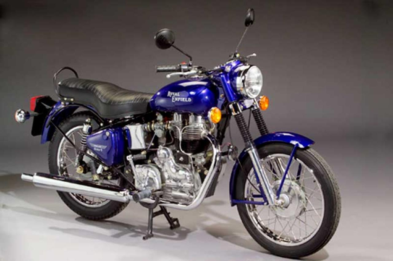 1991 Enfield 500 Bullet (reduced effect) #1