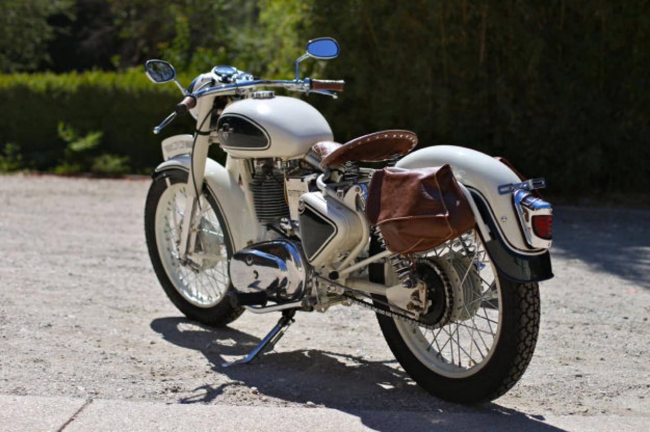 1991 Enfield 500 Bullet (reduced effect) #2