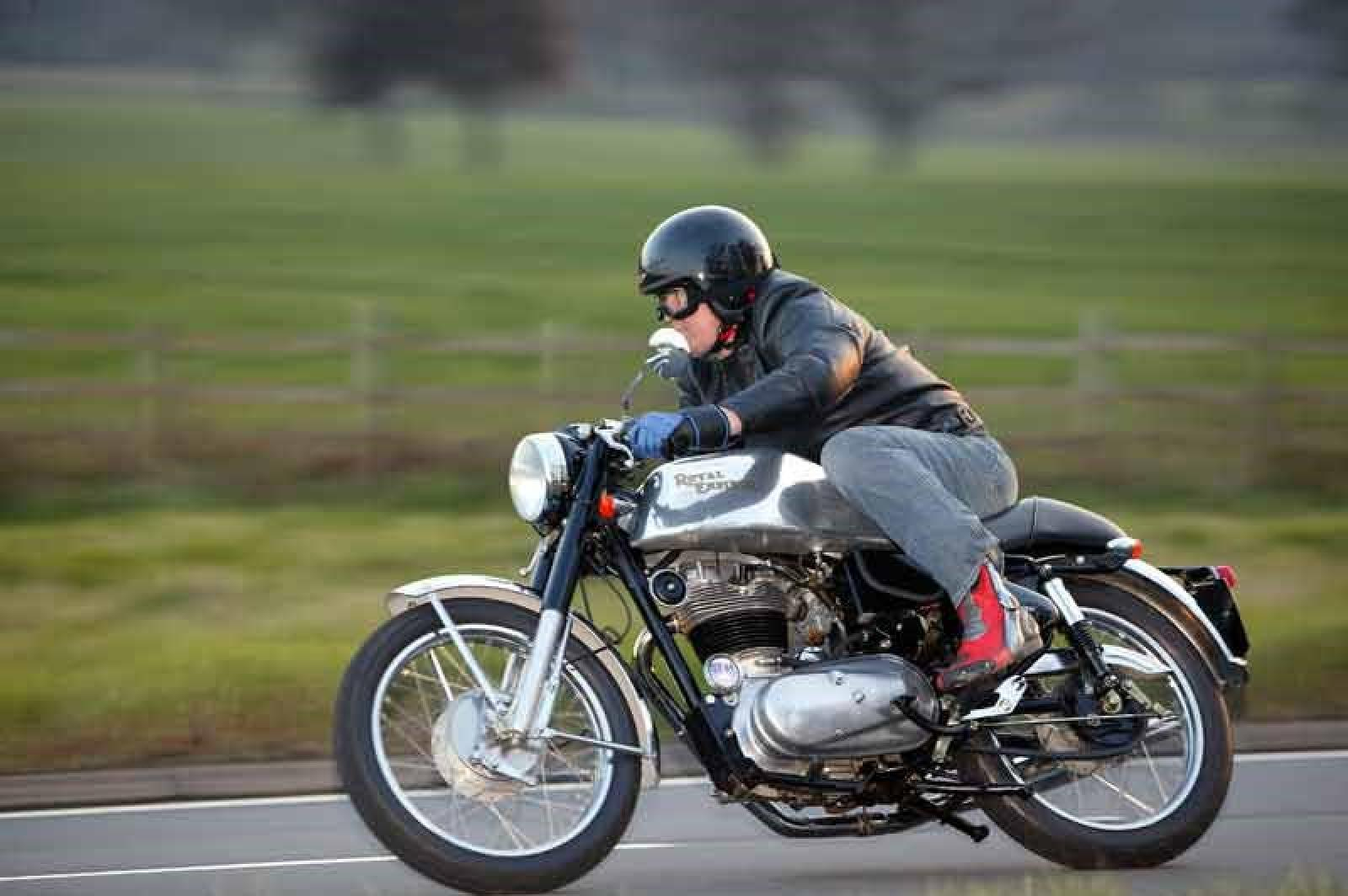 1991 Enfield 500 Bullet (reduced effect) #6