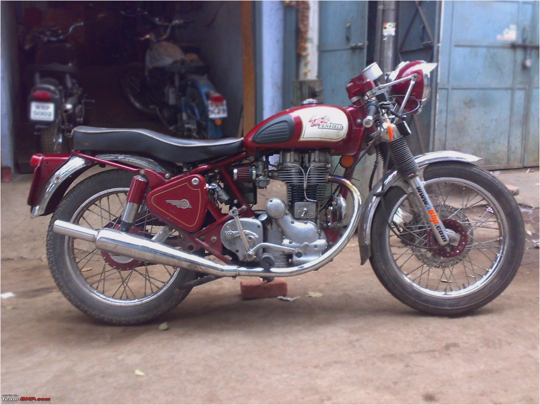 2003 Enfield 500 Clubman S #8