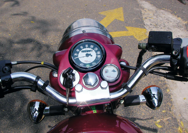 Enfield Bullet 500 Classic #8