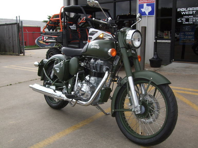 Enfield Bullet 500 Military #1