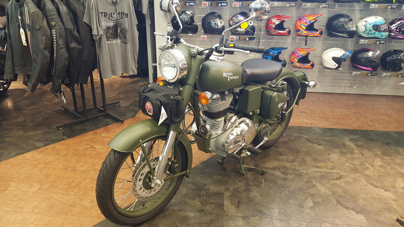 Enfield Bullet 500 Military #2