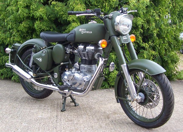 Enfield Bullet 500 Military #3