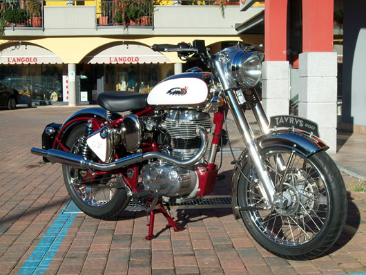 2011 Enfield Bullet Classic 500 #8