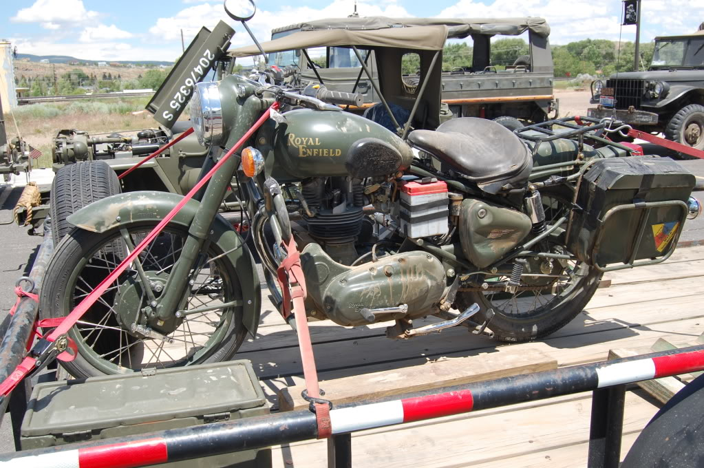2007 Enfield Bullet Military #3