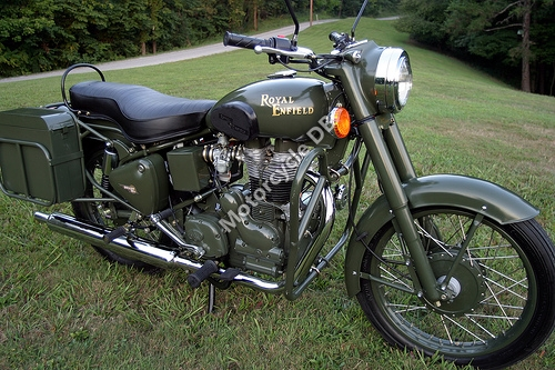 2007 Enfield Bullet Military #7