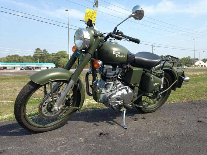 2007 Enfield Bullet Military #4