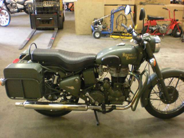 2007 Enfield Bullet Military #9