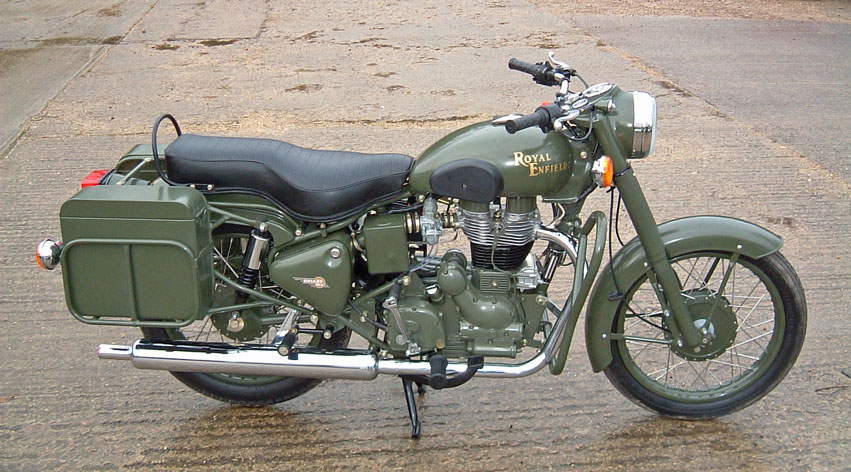 2007 Enfield Bullet Military #6
