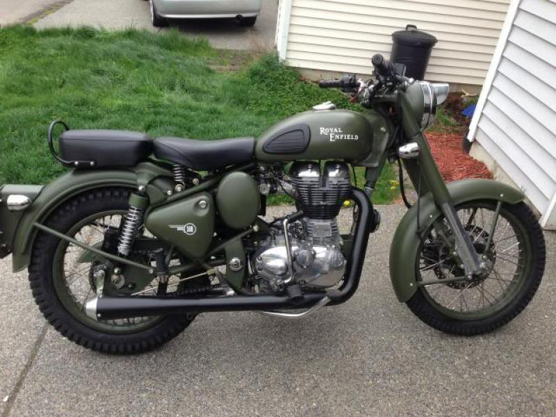 2007 Enfield Bullet Military #8