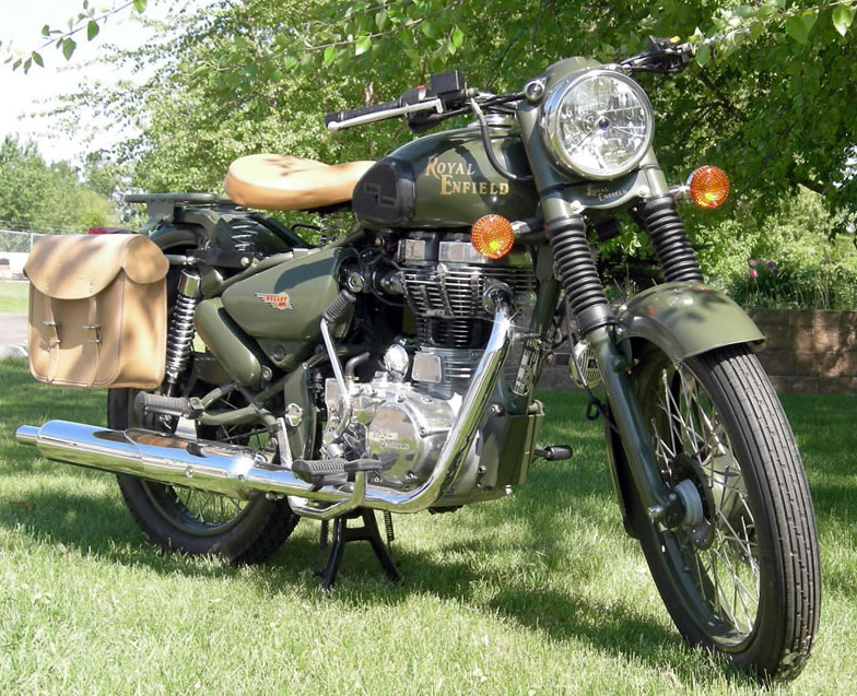 2007 Enfield Bullet Military #2