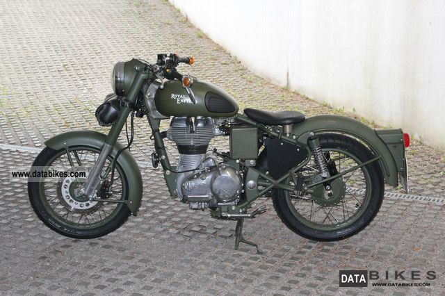 2010 Enfield Classic 500 #4
