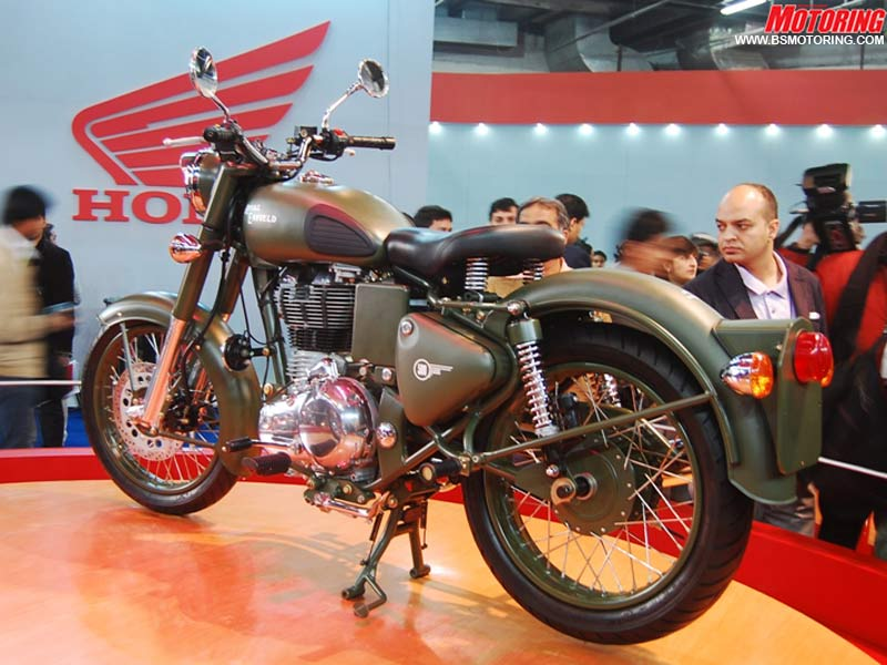 2004 Enfield Euro Classic 500 #8