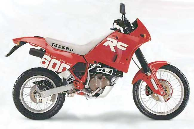 1992 Gilera 600 Nordwest (reduced effect) #3