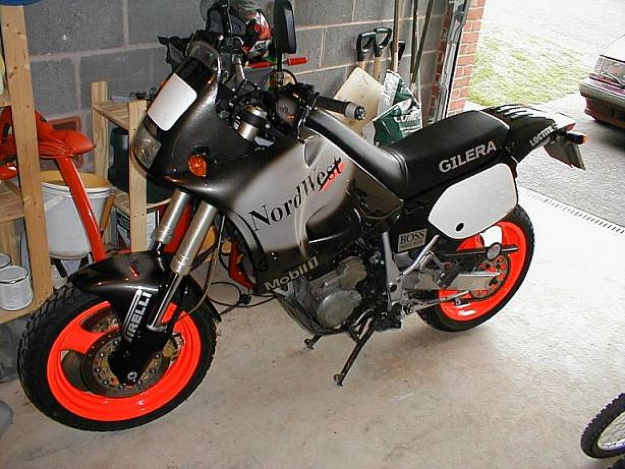 1992 Gilera 600 Nordwest (reduced effect) #10