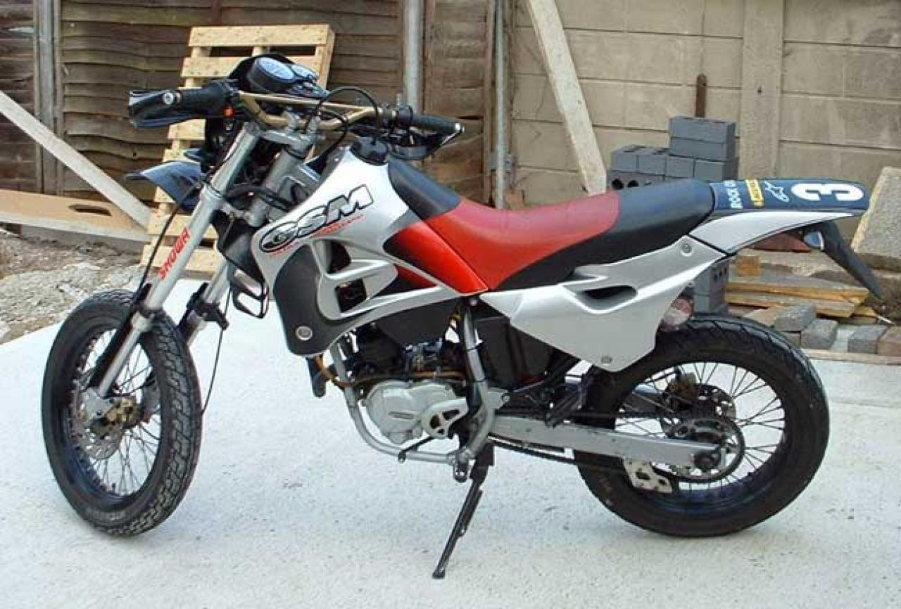 1988 Gilera NGR 250 (reduced effect) #2