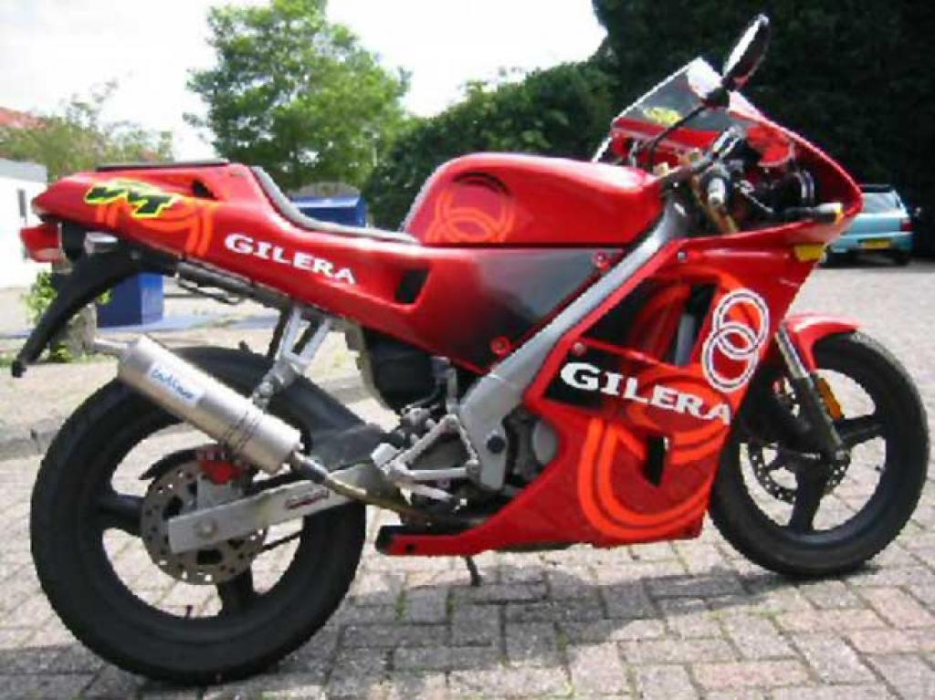 1988 Gilera NGR 250 (reduced effect) #1