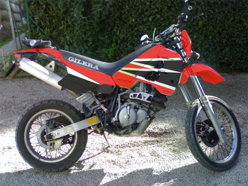 Gilera RC 600 C (reduced effect) #3