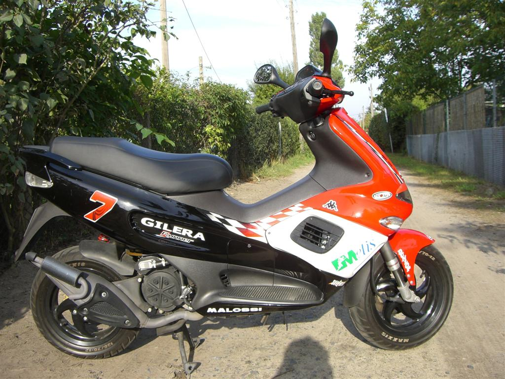 2006 Gilera Runner Racing Replica #1