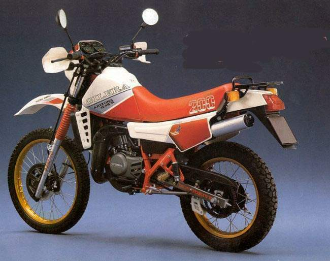 1986 Gilera RX 200 Arizona #2