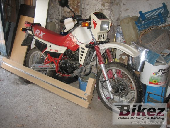 1986 Gilera RX 200 Arizona #1