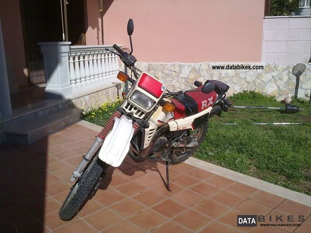 1988 Gilera RX 200 Arizona #7