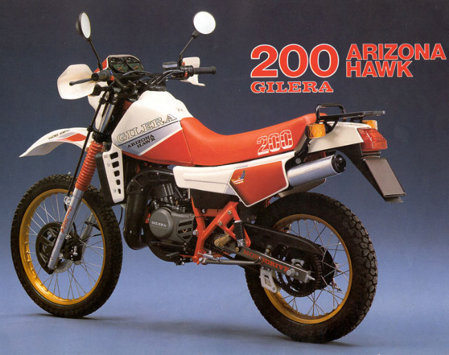 1988 Gilera RX 200 Arizona #6