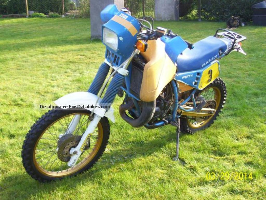 1988 Gilera RX 200 Arizona #5