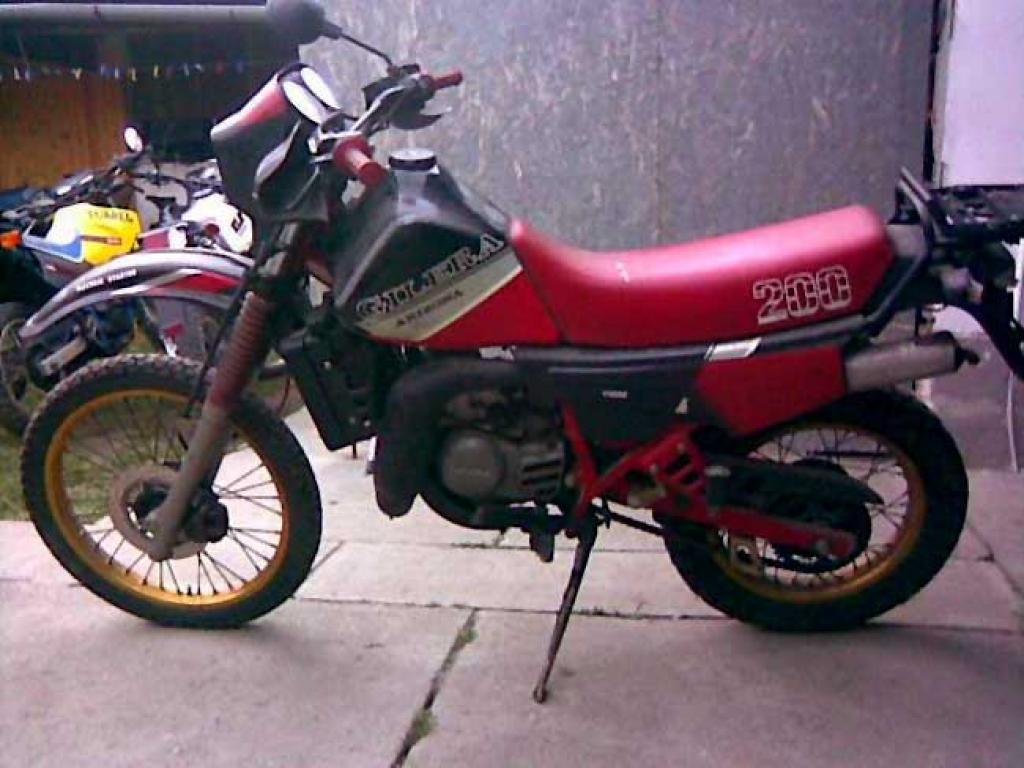 1988 Gilera RX 200 Arizona #1