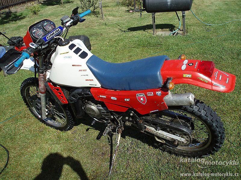 1988 Gilera RX 200 Arizona #3