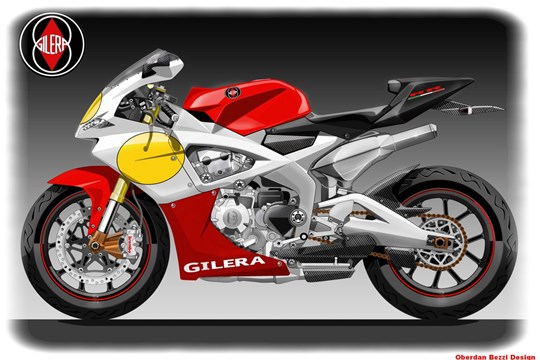 Gilera SuperSport 600 #2