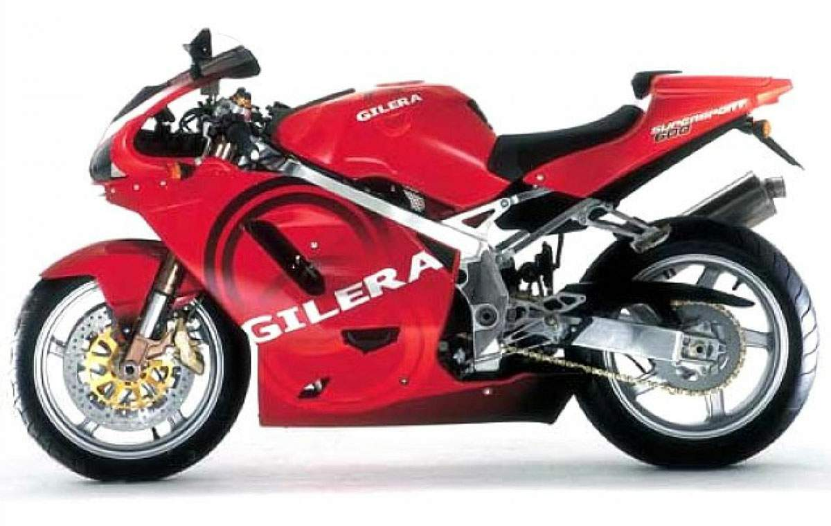 Gilera SuperSport 600 #1