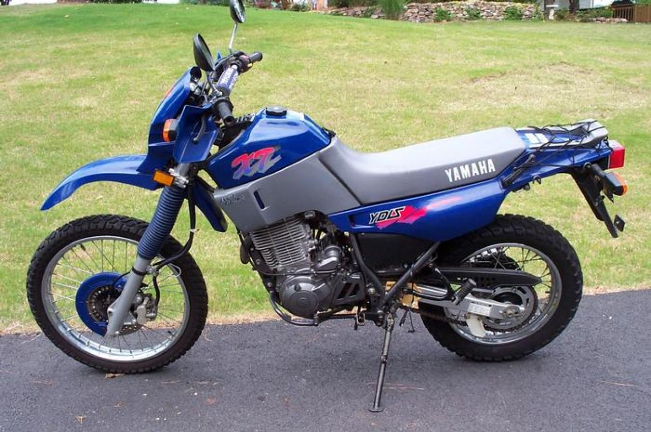 1990 Gilera XRT 600 (reduced effect) #1