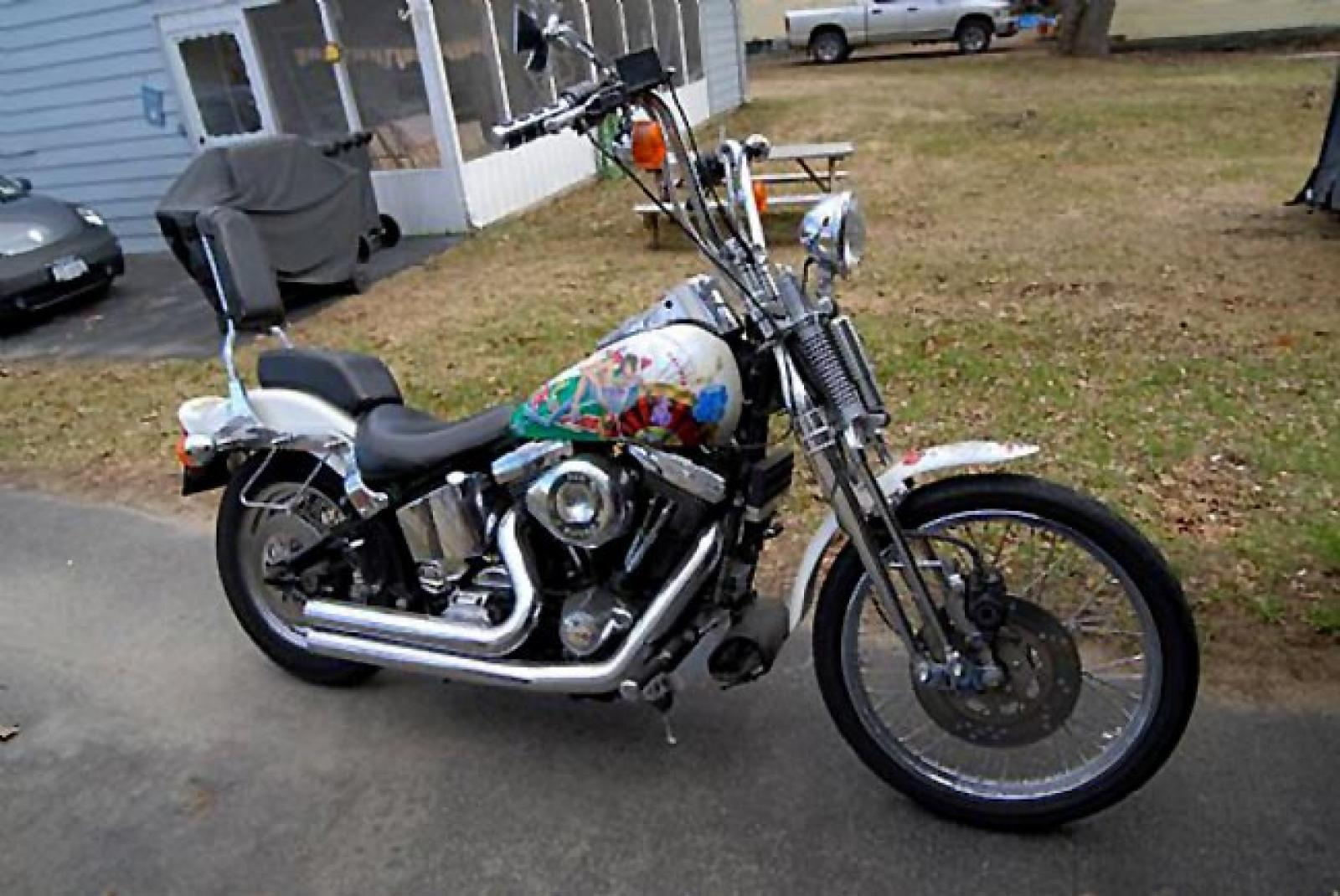 1989 Harley-Davidson 1340 Springer Softail (reduced effect) #1