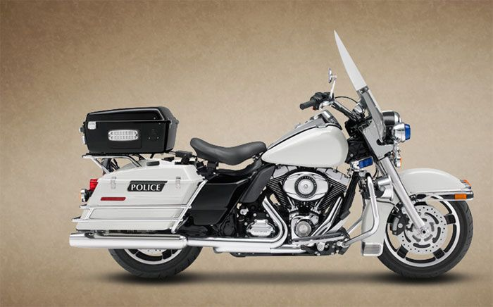 2008 Harley-Davidson FLHP Road King Fire Rescue #1