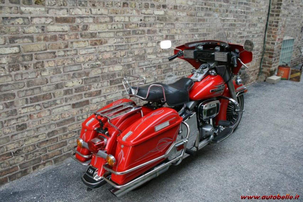 Harley-Davidson FLHTC 1340 (with sidecar) (reduced effect) #1