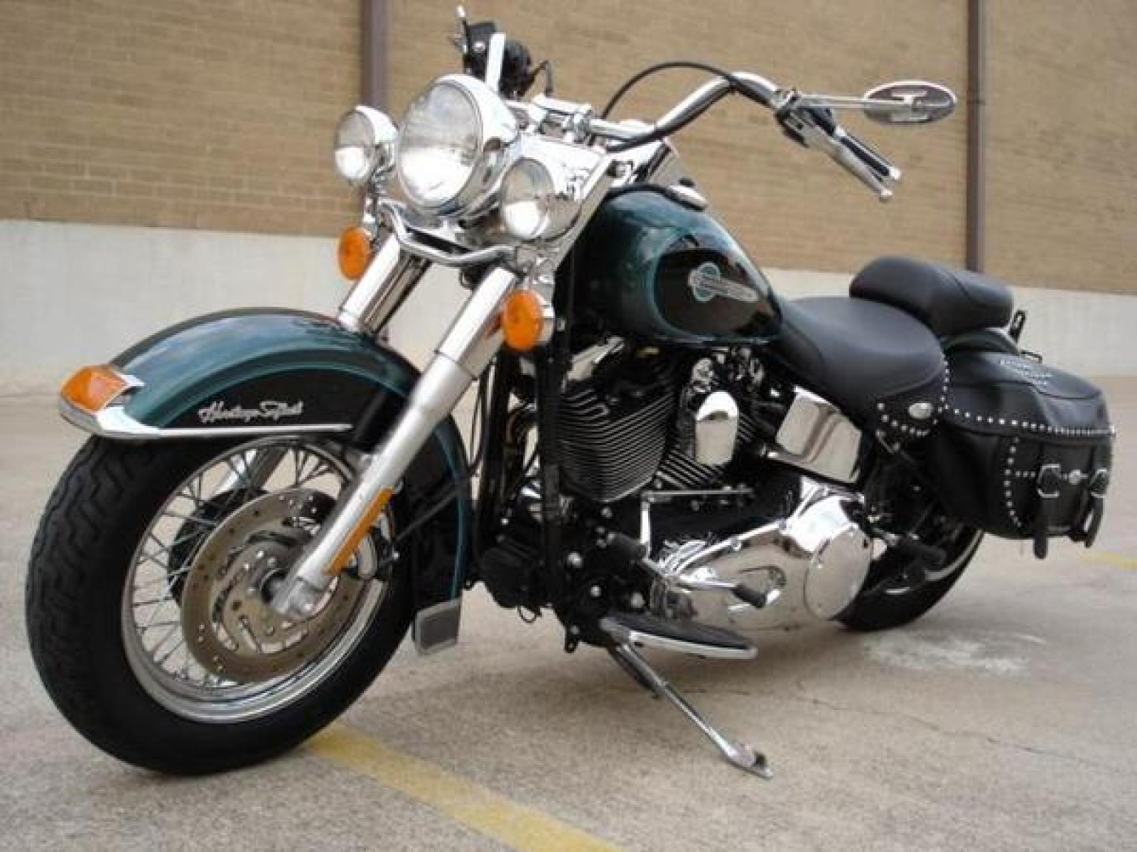1988 Harley-Davidson FLST 1340 Heritage Softail (reduced effect) #10