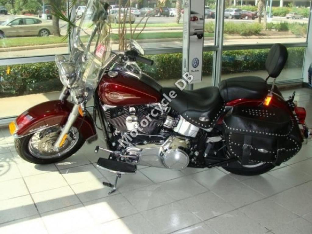 1988 Harley-Davidson FLST 1340 Heritage Softail (reduced effect) #9