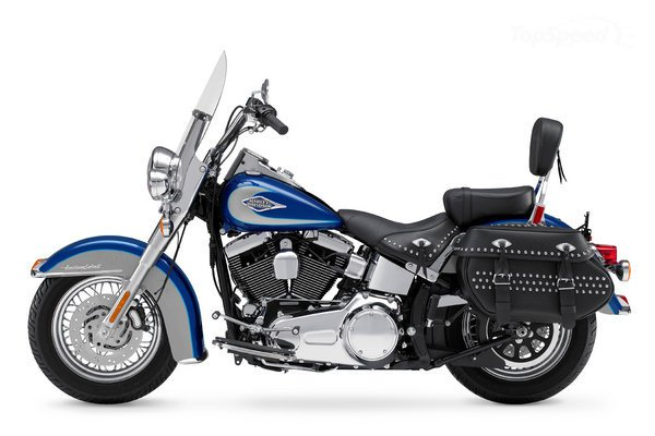 Harley-Davidson FLST 1340 Heritage Softail (reduced effect) #3